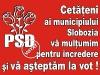 Alegeri Locale - PSD - Carte postala - verso
