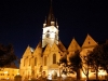Sibiu - Biserica Evanghelista - noaptea