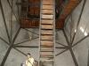 Sibiu - Turnul Bisericii Evangheliste - scarile de acces