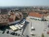 Sibiu - Vedere din Turnul Sfatului - Piata Mica